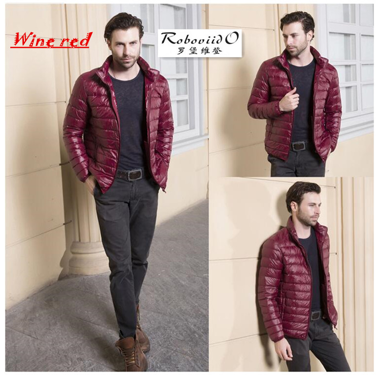2017 Plus size Super light Fashion Mens Clothing Winter keep warm white duck Down Warm Jackets And Coats For Mens Down jacket