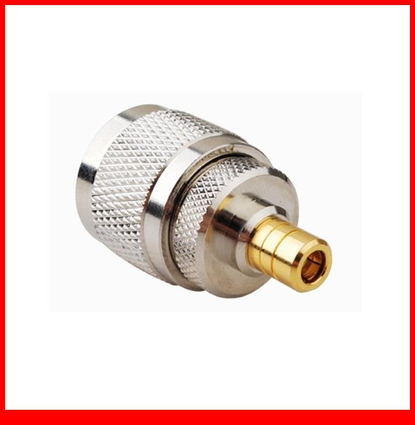 10 pcs  RF adapter N male to SMB female straight10 pcs  RF adapter N male to SMB female straight