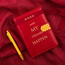 Planer Notebook A6 2019 2020 Agenda notes harmonogram organizator Binder notatnik Plan papier przenośny notatnik biuro Memo Student