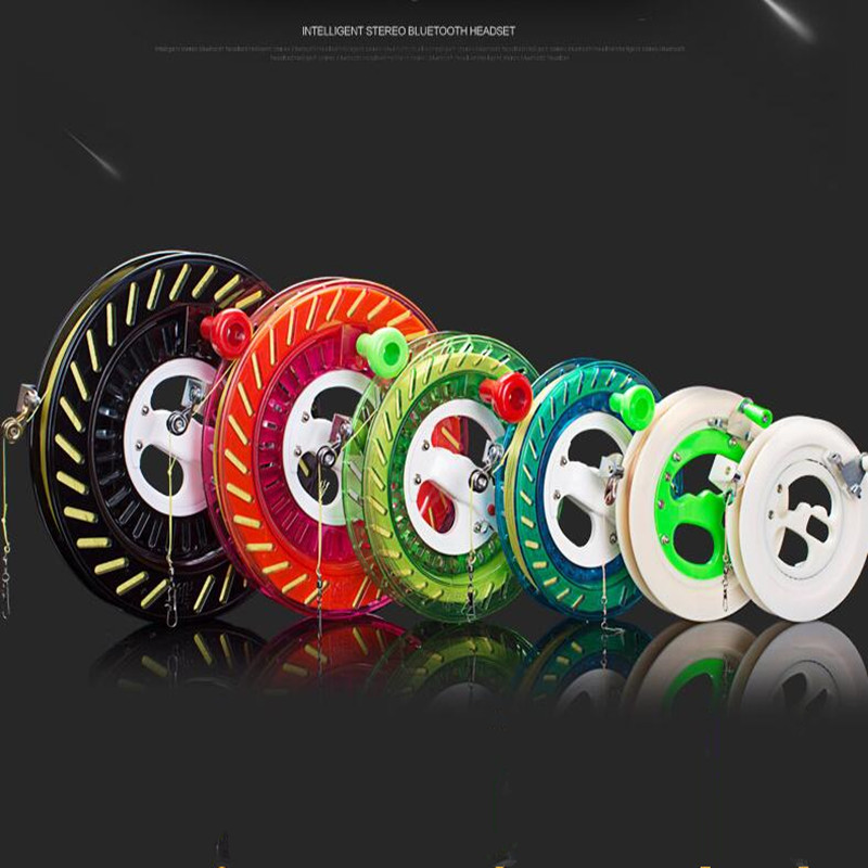 Free Shipping High Quality Children Kite Reel Abs Material Outdoor Flying Kites Wheel For Adults Eagle Kite Factory Kiteboard
