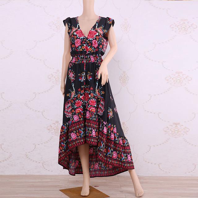 Vintage Beach Boho Dress