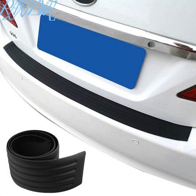 자동차 리어 범퍼 블랙 고무 수호자 크라이슬러 아스펜 파시 피카 PT 300C 자동차 액세서리에 대한 자동 스티커-에서차량용 스티커부터 자동차 및 오토바이 의