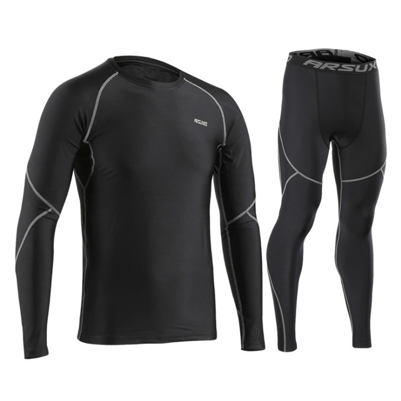 Men Ski Jacket and Pants or Skiing Underwear Set Thermal Underwear Men Quick Dry Long Johns