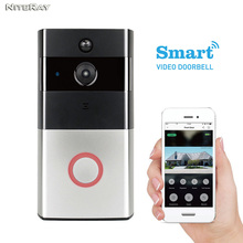 Door eye wifi door sensor battery powered wireless peephole camera apartment door bell system video peephole door camera