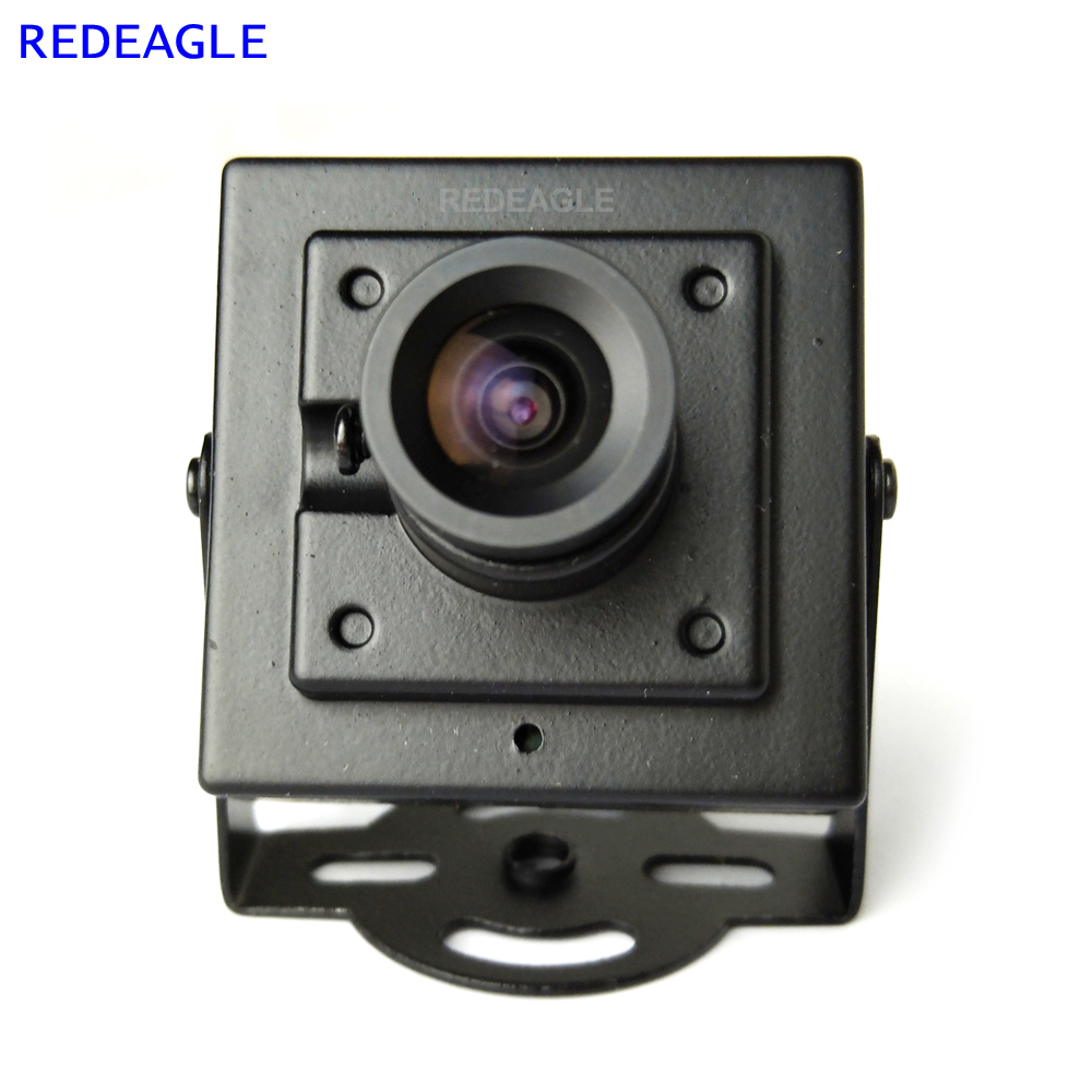 REDEAGLE 700TVL CMOS Wired Mini Box CVBS CCTV Security Camera with Metal Body 3.6MM 2.8MM 6MM Lens Optional eachine 700tvl 1 3 cmos 2 6mm lens 148 degree mini camera