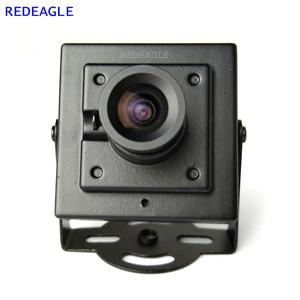 Image 1 - REDEAGLE 700TVL CMOS kablolu Mini kutu CVBS CCTV güvenlik kamera Metal gövde ile 3.6MM 2.8MM 6MM Lens isteğe bağlı
