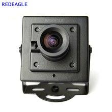 Redattino 700TVL CMOS Mini Box cablato CVBS telecamera di sicurezza CCTV con corpo in metallo 3.6MM 2.8MM 6MM obiettivo opzionale