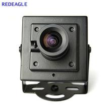 Redeagle 700TVL Cmos Wired Mini Doos Cvbs Cctv Security Camera Met Metalen Body 3.6Mm 2.8Mm 6Mm Lens optionele