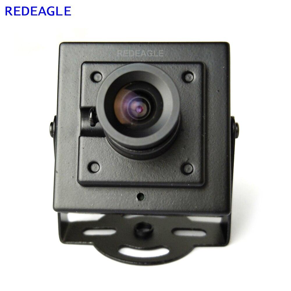 Redeagle 700tvl cmos prendido mini caixa cvbs cctv câmera de  segurança com corpo de metal 3.6mm 2.8mm 6mm lente opcionalCâmeras de  vigilância