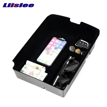 Qi Wireless Charger Storage Box Charging For Toyota HighLander Tour