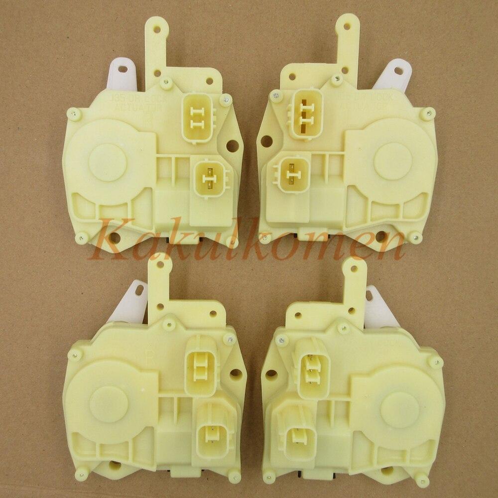 72115-S5A-A01 72155-S5A-A01 72615-S5A-A01 72655-S5A-A01 Дверные замки Привод для Honda Civic CR-V Fit Accord insight Odyssey S2000