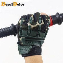 Kids Tactical Fingerless Gloves for 5-13 years old Military Armed Anti-Skid Sports Outdoor half Finger Boys Girls R010