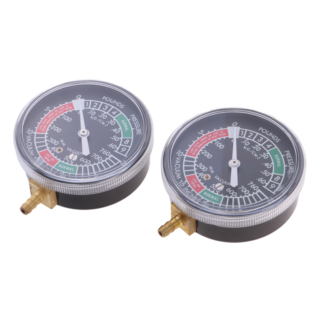 2 Pieces Perfeclan Motorcycle Carburetor Vacuum Gauge Synchronisation Balancing With Damping Control And Calibration Control in Carburetors from Automobiles Motorcycles