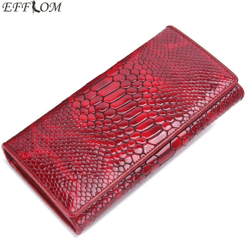 Long Hasp Women Wallets Genuine Leather Woman Phone Wallet Red Slim Cowhide Card Holder Ladies Clutch Wallet with Coin Pocket simline fashion genuine leather real cowhide women lady short slim wallet wallets purse card holder zipper coin pocket ladies