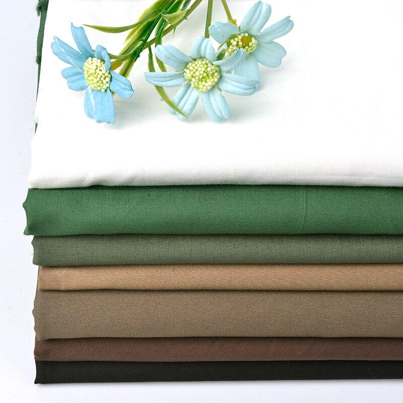 Xintianji 2018 tissé 100% coton tissu sergé armure pour la literie et hommes chemises 50*156 cm/pièce W300023