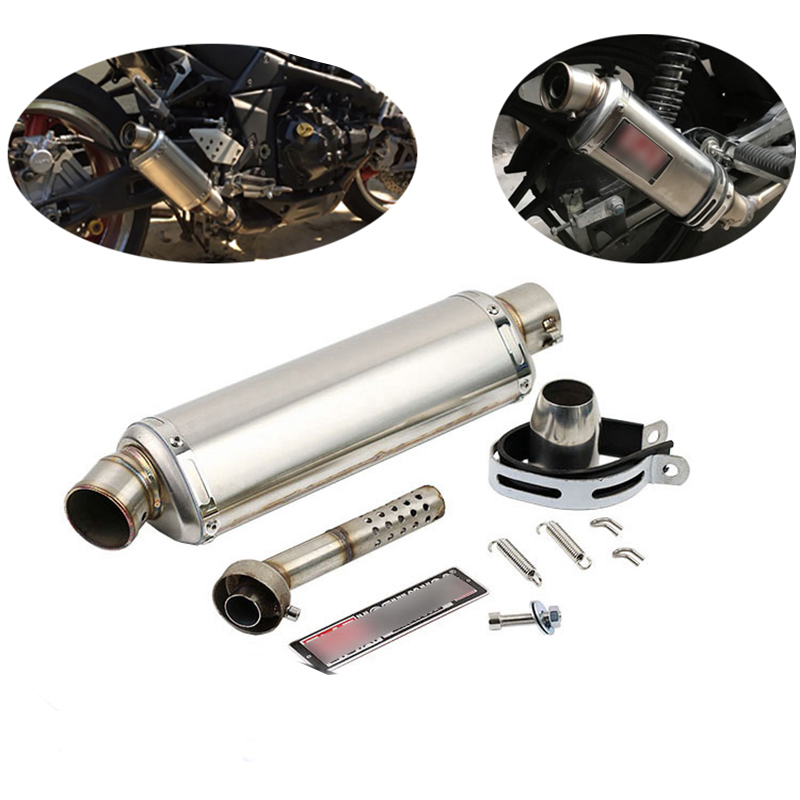 Muffler-Tip Silencer Motorcycle Scooter Bike Pipe-Baffler Exhaust-Pipe Db Killer Universal