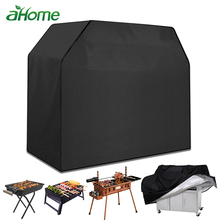 210D Oxford Fabric BBQ Cover Grill  outdoor barbecue Waterproof Dust Proof Sunscreen Protector Accessories