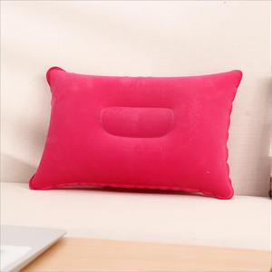 Portable Inflatable Outdoor Travel Pillow Air Pillow Beach Car Cushion Car Head Rest Hiking Pillow Gray