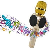 Đa Karaoke Portable Wireless Bluetooth Microphone với Mic Loa Condenser Nhà Thời Trang Mini KTV Hát Player cho Điện Thoại