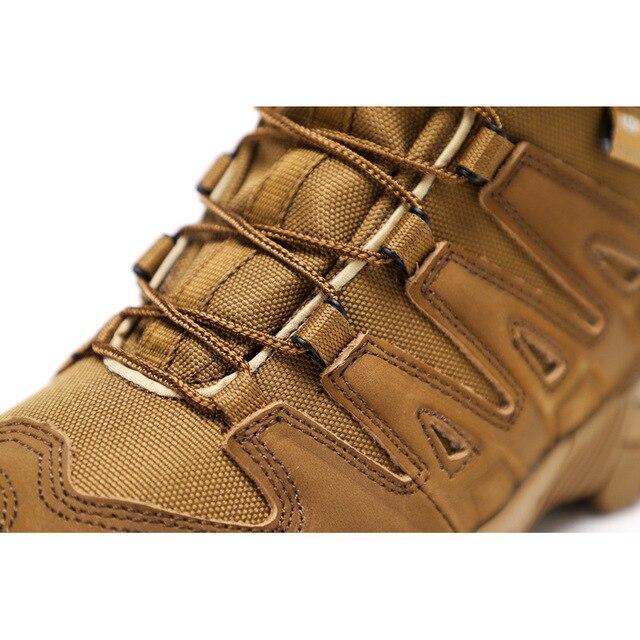 Botas de senderismo de alta calidad para hombre zapatos atl ticos para deportes al aire libre