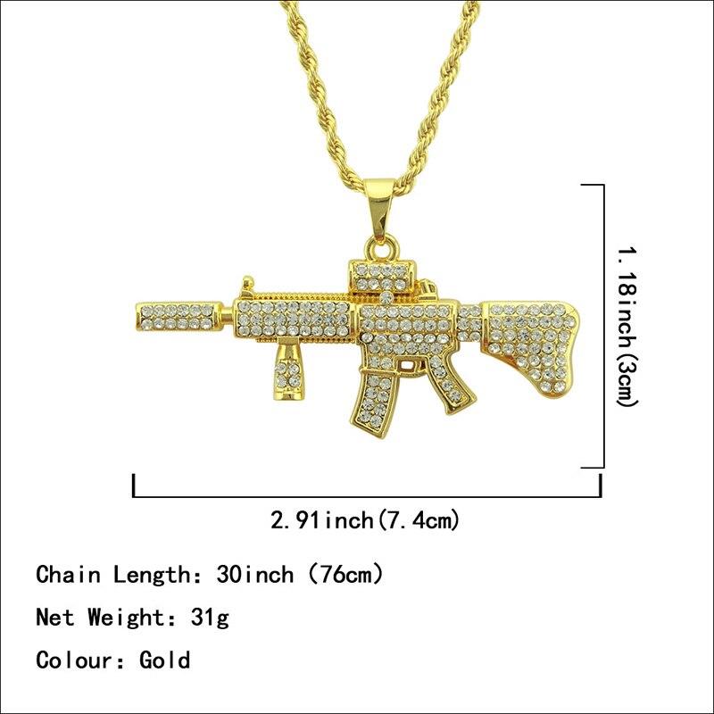 Хип-хоп ювелирные изделия Модные золотые длинные цепочки ожерелья для женщин и мужчин персонализированные буквы Орел молитвенный знак карта кулон ожерелье - Окраска металла: N058