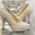 Muy recomendable nueva llegada de boda blanco zapatos de tacón alto zapatos de novia de niza y la gran calidad del partido de baile zapatos