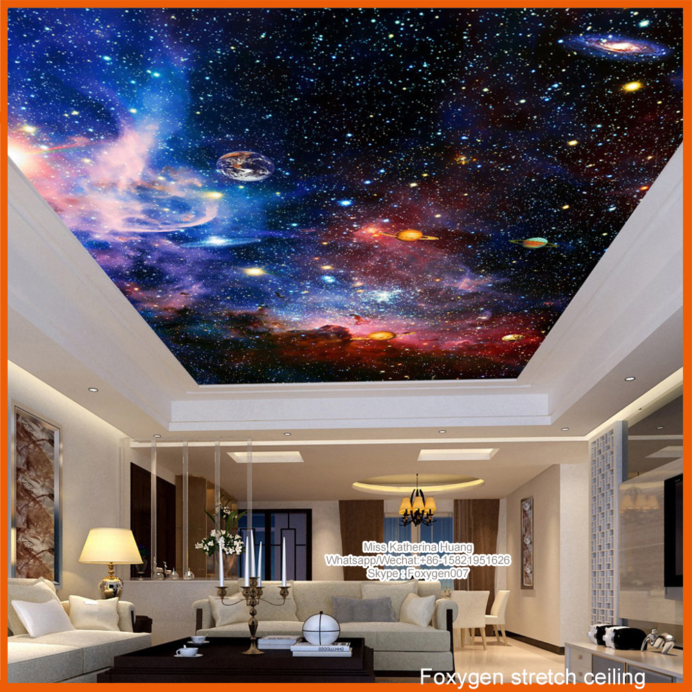 2017 pop  night sky   pvc stretch ceiling design for wall and ceiling panel Similar as barrisol retro women sunglasses polarized driving sun glasses with pc metal hinge shades uv400 protection gafas de sol mujer 4 colors