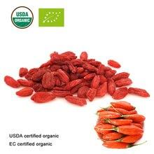 USDA and EC Certified organic dry gojiberry Chinese wolf berry