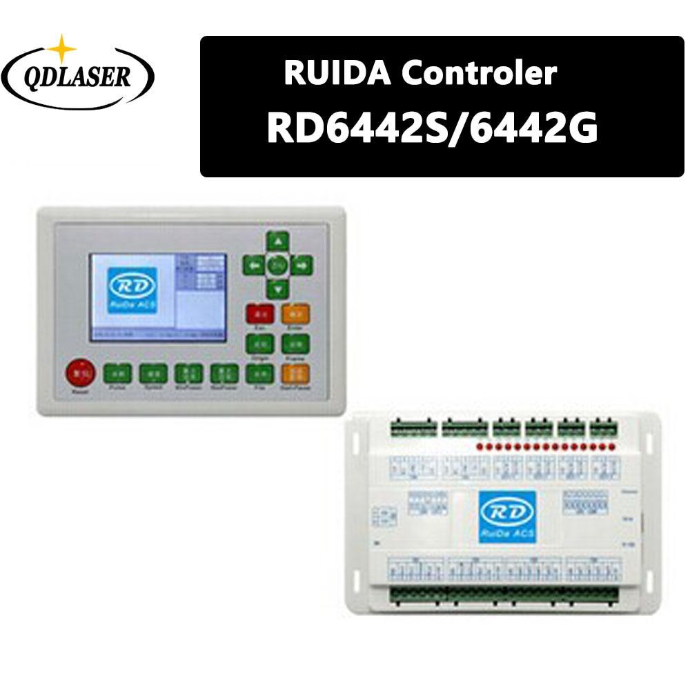 все цены на Ruida RD RDC6442G Co2 Laser DSP Controller for Laser Engraving and Cutting Machine RDC 6442 6442G 6442S онлайн