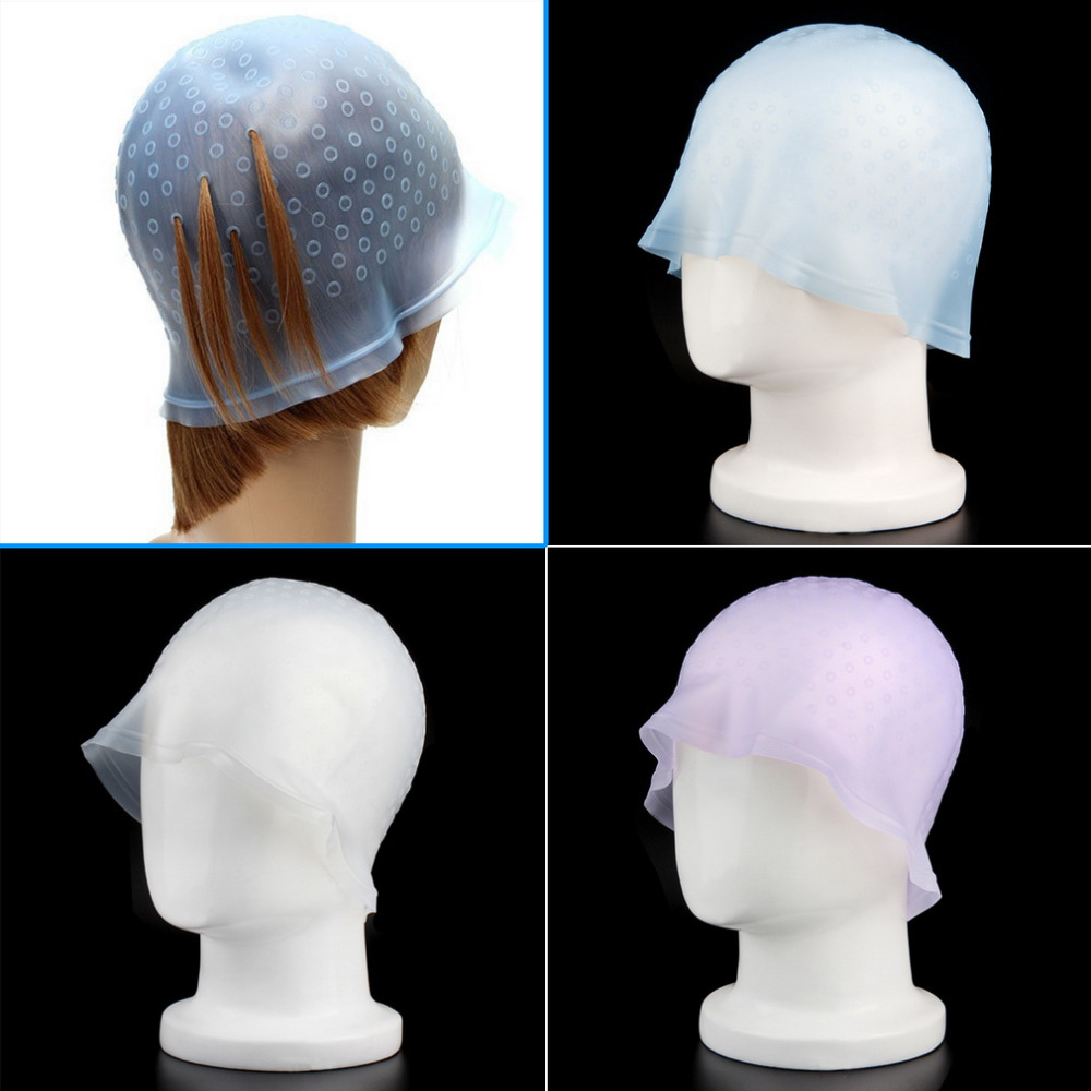 Highlighting-Dye-Cap Hair Colouring Tipping-Color Frosting Reusable Hot with Hook 1pcs