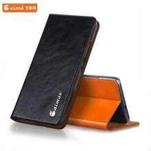 Genuine Leather Case For ZTE Blade V8 Luxury Wallet Style Leather Case For ZTE Blade V8