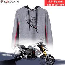 KODASKIN Men Racer Motorcycle Hoodies Hoody Jackets Sweatshirts Customized for Honda CB190R CBR190