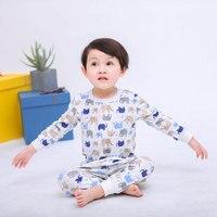 Kids Pajamas Children Sleepwear Baby Pajamas Sets Boys Girls Animal Pyjamas Pijamas Cotton Nightwear Boy's Homewear Long Johns