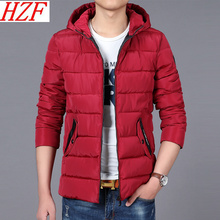 2017 Men winter parkas Plus Size Warm Jacket Hooded Zipper Coat Brand Casual Outwear Male Clothing 8XL Warm Thick Jacket