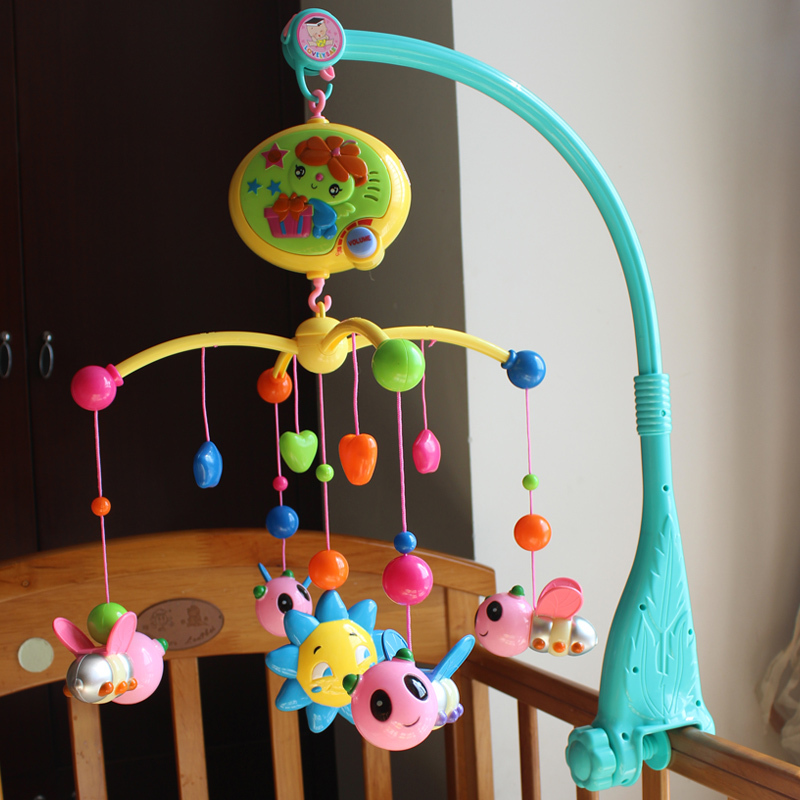 דבורה חמוד התינוק התינוק פעמונים - צעצועי פעוטות