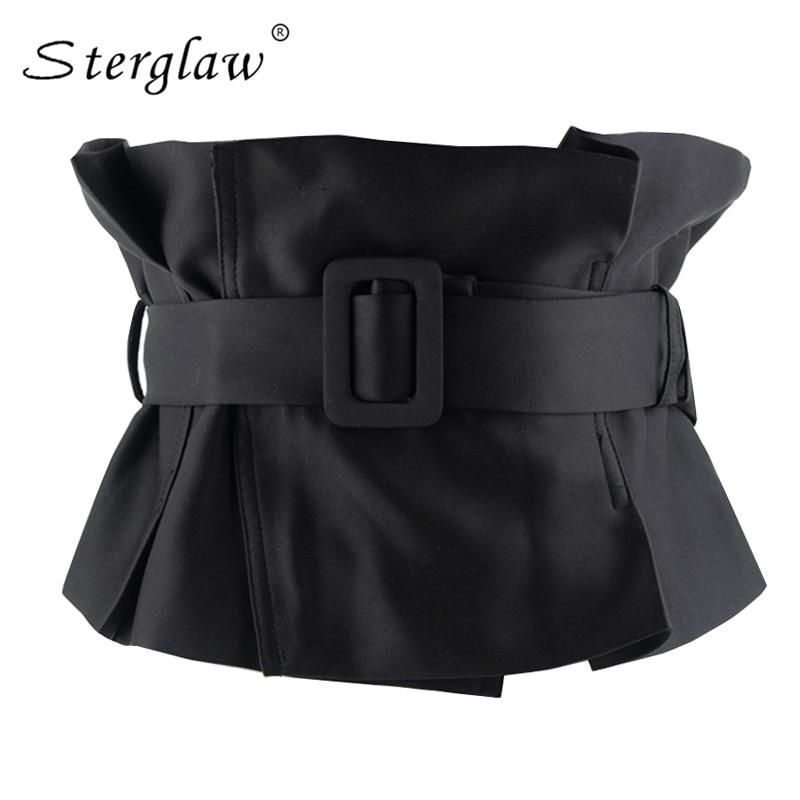 High quality casual wide Belt Sexy slim belts corset female girdle cummerbund women s fashion accessories