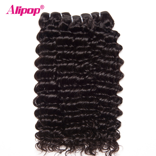 Where to buy weft hair extensions gallery hair extension hair aliexpress buy alipop deep wave brazilian hair weave bundles alipop deep wave brazilian hair weave bundles pmusecretfo Choice Image