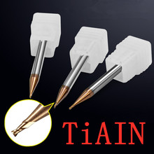 Engage precision End Mill Milling Cutting Tools for steel/Copper/Aluminum micro Carbide milling cutter small end mill