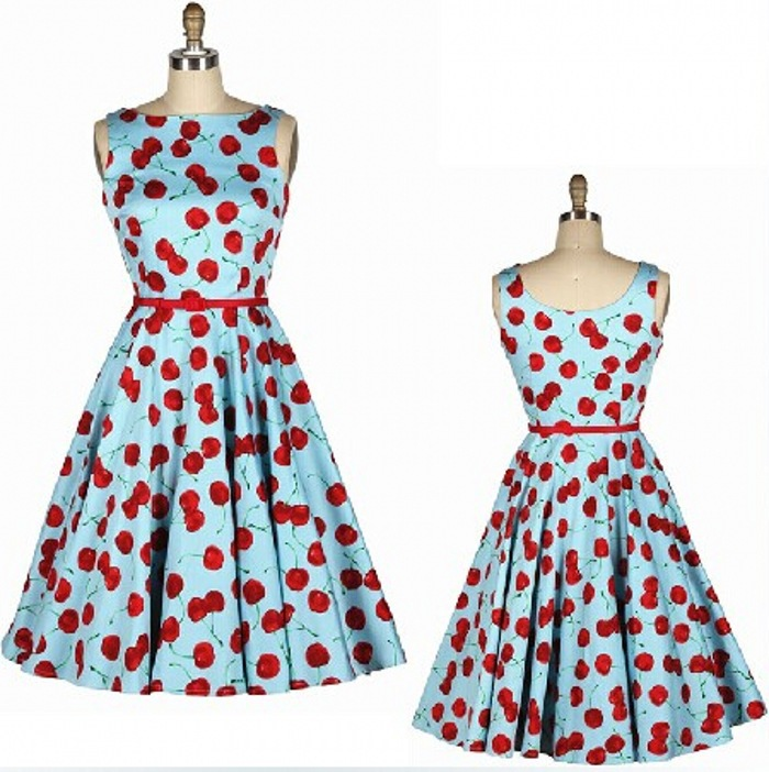 Vintage Style Housewife Women\'s Vintage Retro Rockabilly 1950s 60s ...