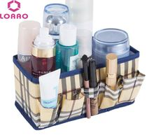 LOAAO Make Up box Cosmetic Storage Box Container Sacchetto di Caso dell'organizzatore home Storage Box di trucco Del Sacchetto(China)