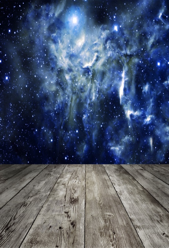 Laeacco Nebula Universe Board Floor Light Bokeh Scene Photography Backgrounds Customized Photographic Backdrops For Photo Studio in Background from Consumer Electronics