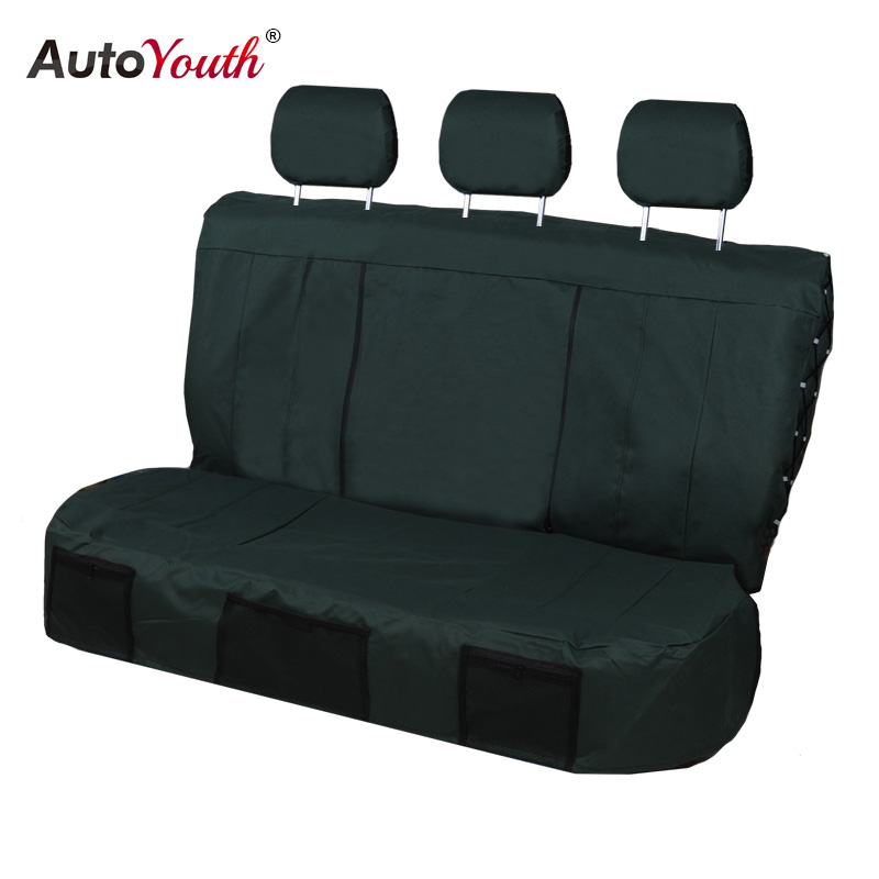 AUTOYOUTH housses de siège auto 3 couleurs housses de siège arrière tissu Oxford Durable style de voiture adapté à la plupart des nouveaux accessoires d'intérieur de voitures