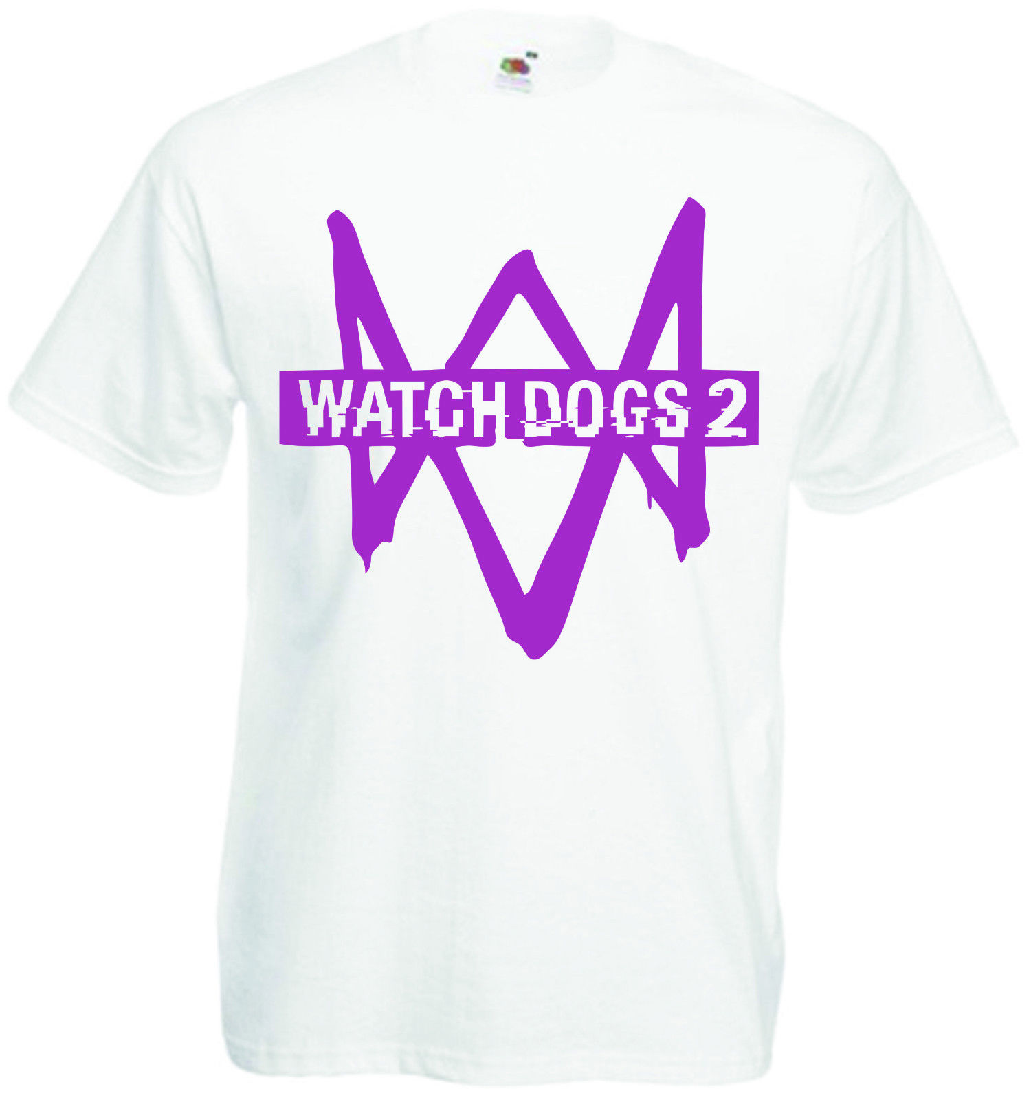 Watchdogs 2 T-Shirt or Vest Gaming Tee Mens Top Video Games Clothing Short Sleeve Discount 100 % Cotton T Shirts Top Tee