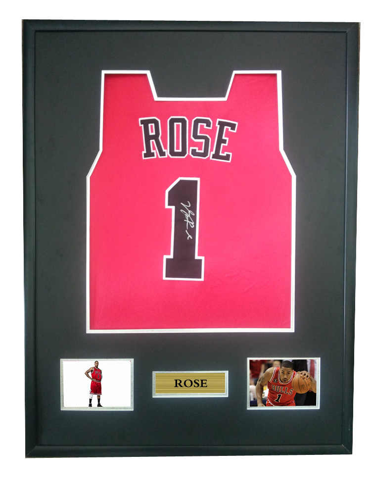 74ce60f4924a86 Detail Feedback Questions about Derrick Rose signed autographed basketball  shirt jersey come with Sa coa framed Bulls on Aliexpress.com