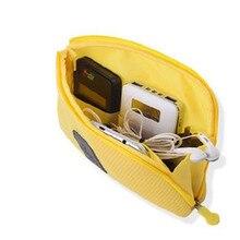 Travel Cosmetic Bag 22*15*3cm  Women Brand Small Makeup bag Case trousse de toilette 6 colors  ACB591