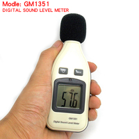1 5 lcd 30-130dBA High Quality  Digital Noise Sound Level Meter 1.5 dB Accuracy Decibel Logger Tester LCD Automatic Backlight GM1351 (2)