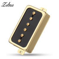 Zebra Electric Guitar Neck Bridge Pickup Humbucker High Output Stringed Instruments Parts Fits For Single Coil