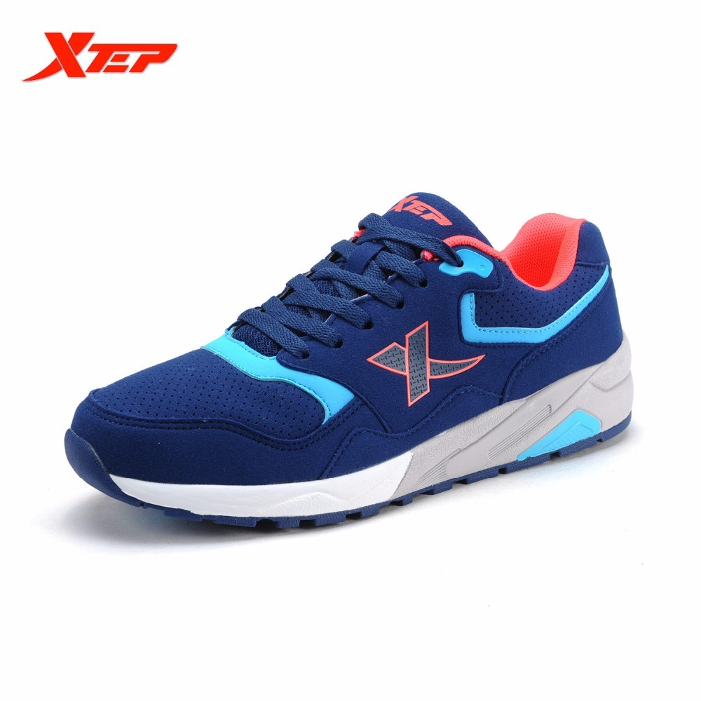 XTEP Original Men's Retro Light Running Vintage Outdoor Sports Athletic Trainers Men Shoes Sneakers