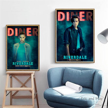 TV Series Riverdale Figures Diner Poster And Print Canvas Art Decorative Wall Picture For Bedroom Home Decor Unframed Painting