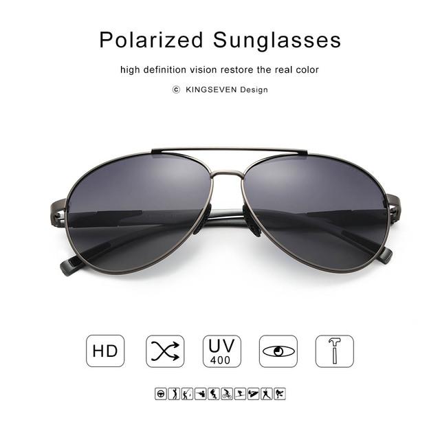 Men's Anti-Reflective Polarized Sunglasses